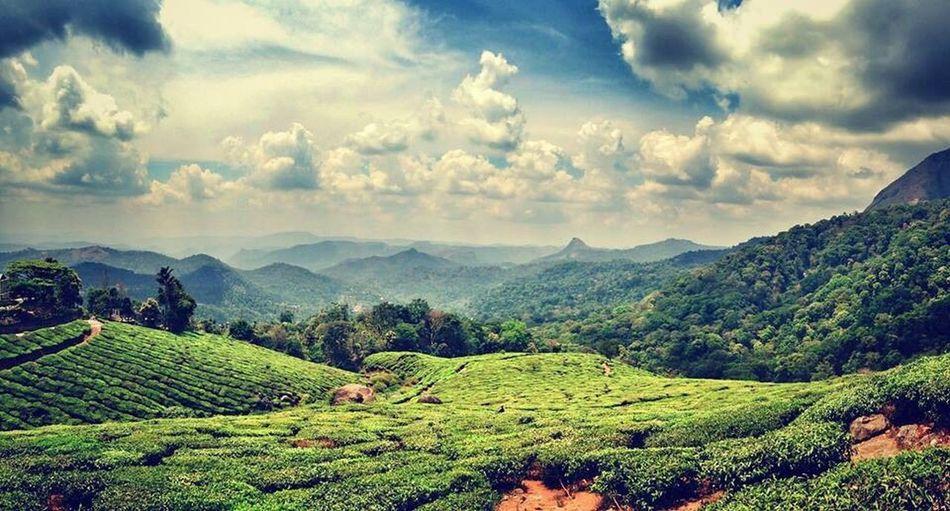 Munnar India Sky Tee