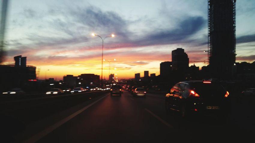 Sogukbiristanbul Günbatımı Istanbuldaysam Aşk