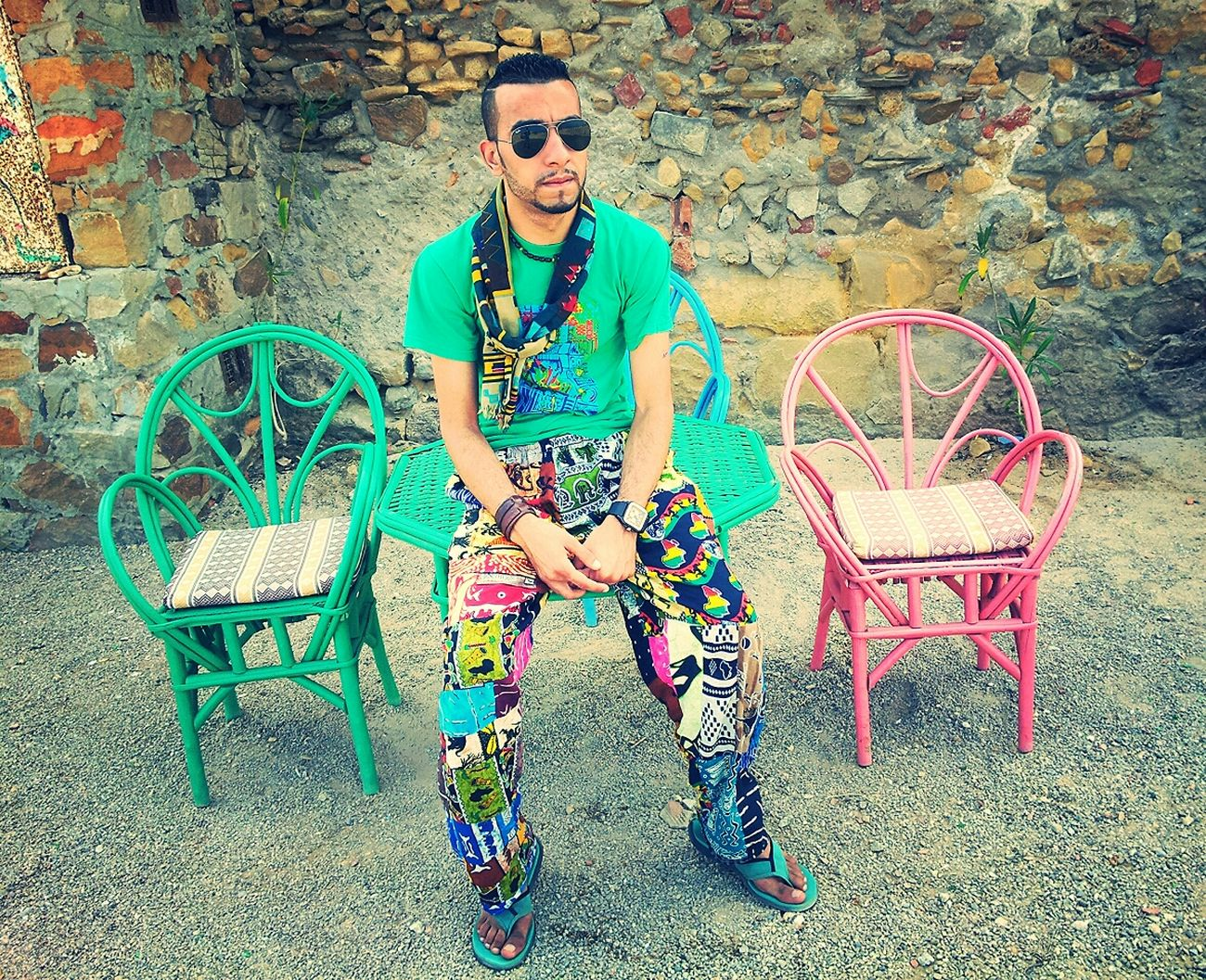 Gnawa Music Fashion Portrait Lovely