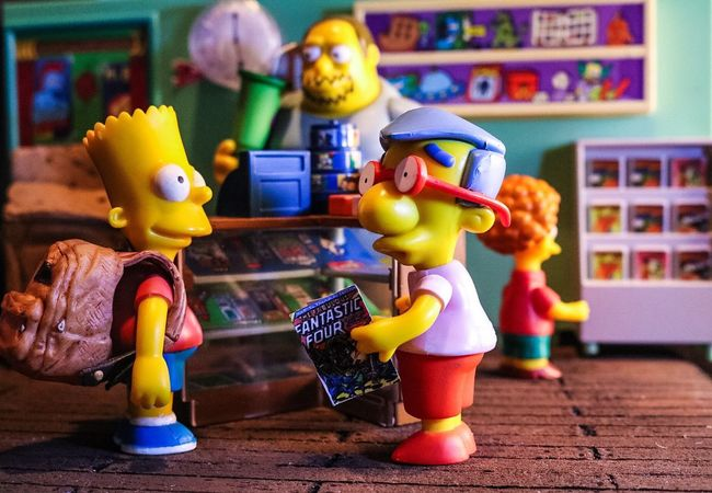 Simpsons The Simpsons Playmates Fox Tv Show Animation Domination