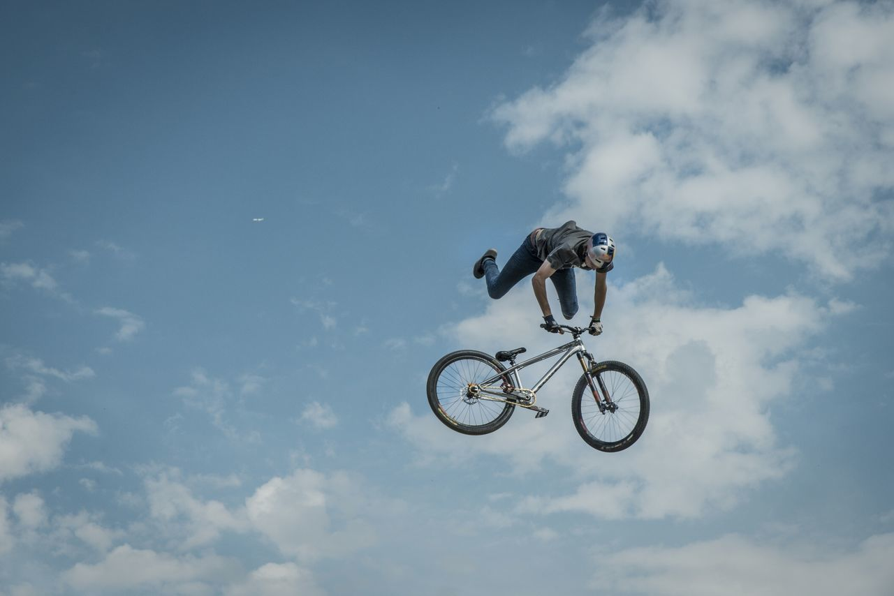Beautiful stock photos of bike, Activity, Adventure, Agility, Athlete