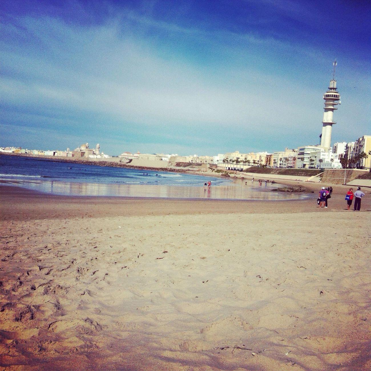 Paseos por la playa Playa Victoria Cadiz Andalucía SPAIN