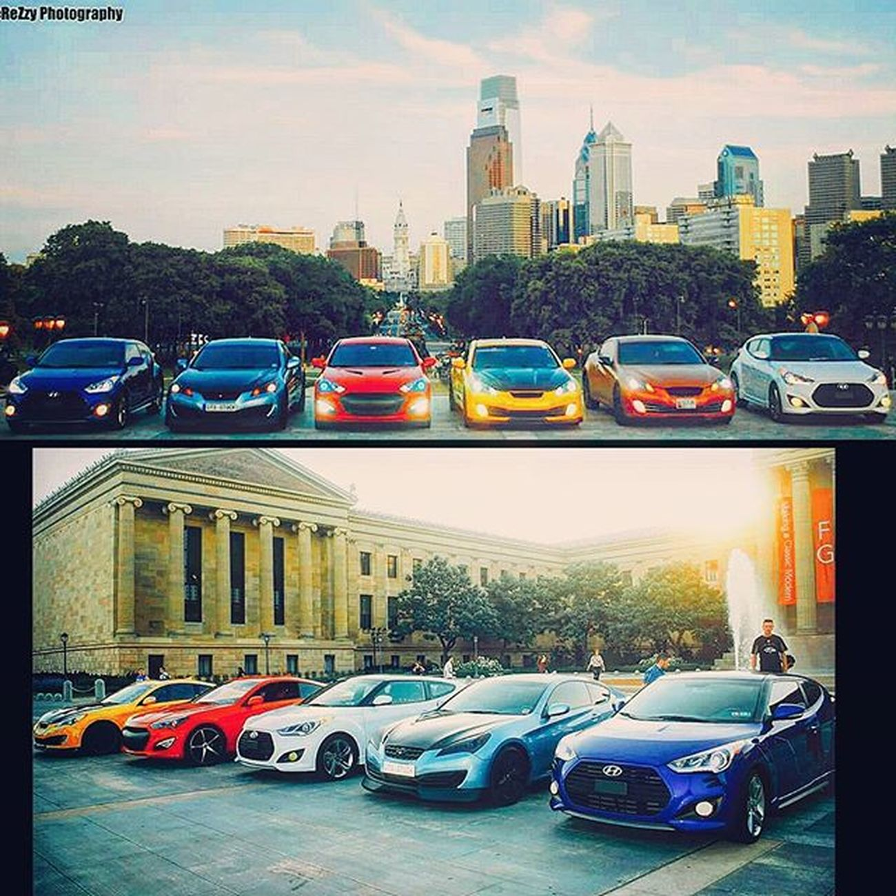 Can't wait to stunt this summer! Hyundai Hyundai_kdm Kdm Veloster Velosterturbo Hatchsociety Velosternation Variantvelosters Kdmloyalty Kdmkings Veloster_addicts Gencoupe Genesiscoupe Genny Gencoupenation Gencoupelove Philadelphia Artmuseum Carsaremodernart