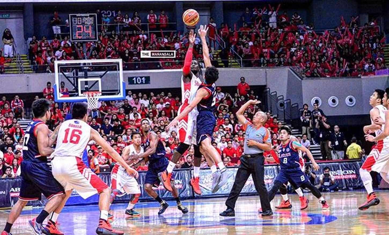 There's only one team DESTINED for the crown!! Bethestory ⚡🏆🏀 . . . NCAA Ncaa91finals Ncaa91 ncaaseason91 SBCvsCSJL sanbeda redlions letran letranknights hoop ballers ballislife basketball themanansala