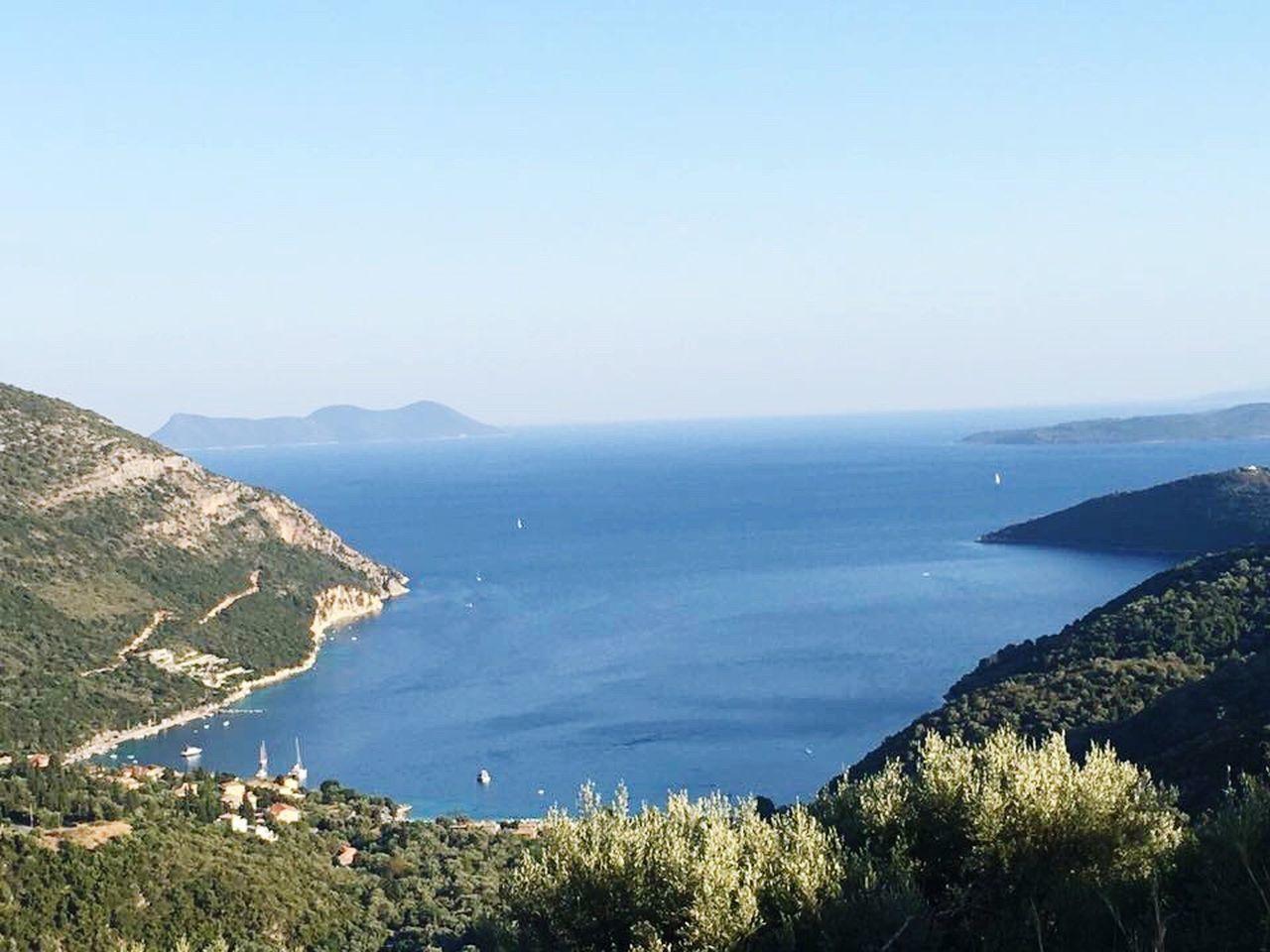Greece Hello World Hanging Out Poros