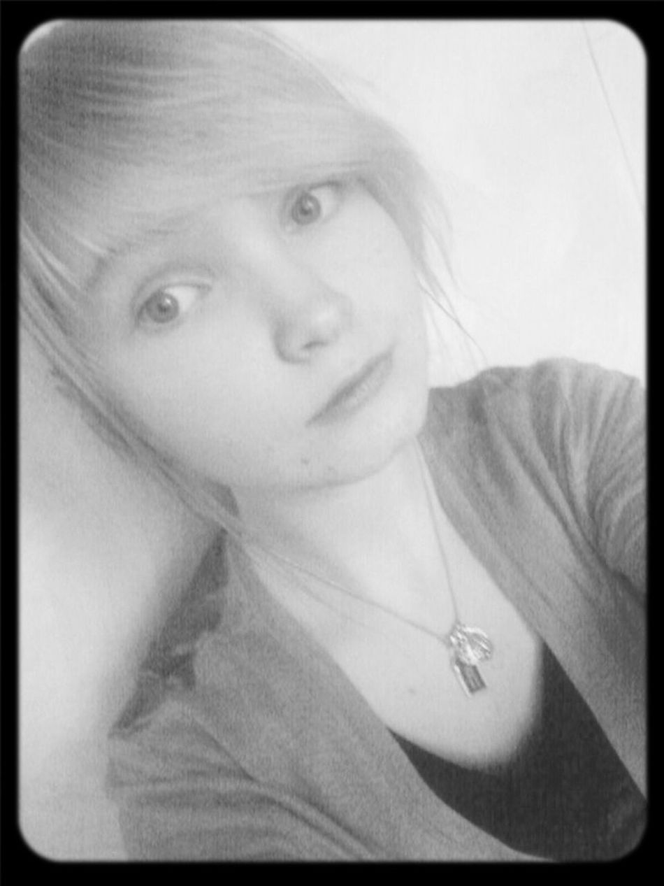 Cause I like it! :) Eye4black&white  That's Me EyeEm Best Edits Black And White Portrait