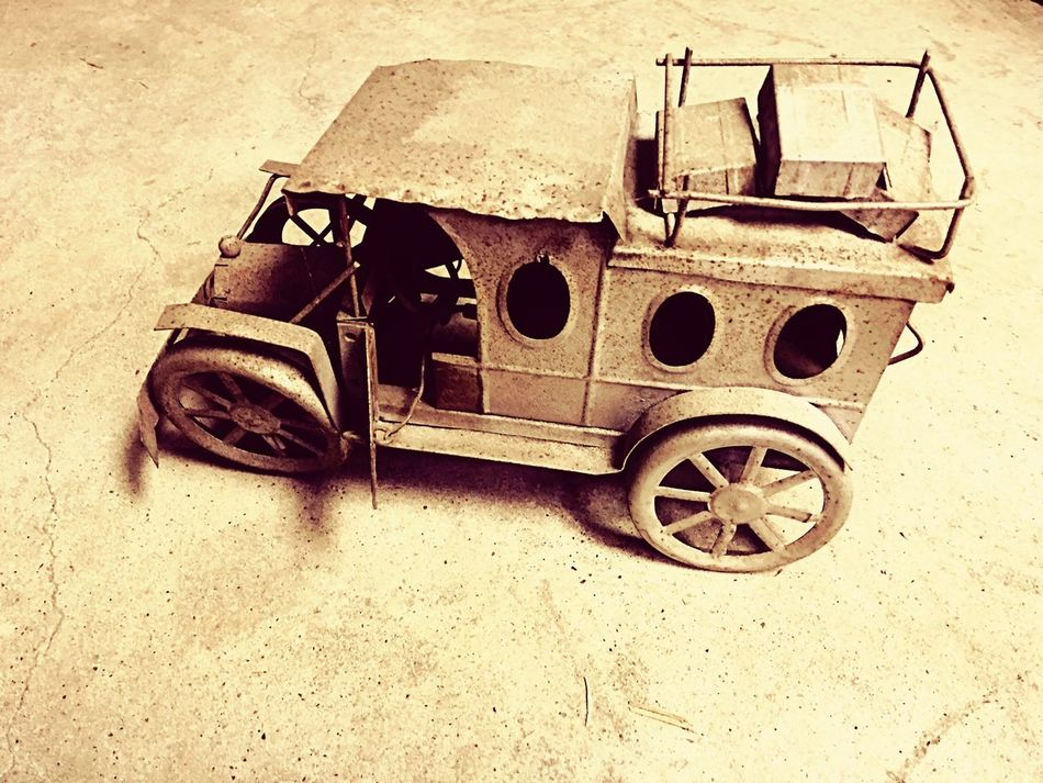 Lieblingsteil Toy Vehicle Tin Car Wind Up Brass Tin Toy Vintage Vehicle Antique Toy Photography High Angle View Old-fashioned Collection Old Toys Rusty IPhoneography Iphone6plus Iphoneonly IPhone
