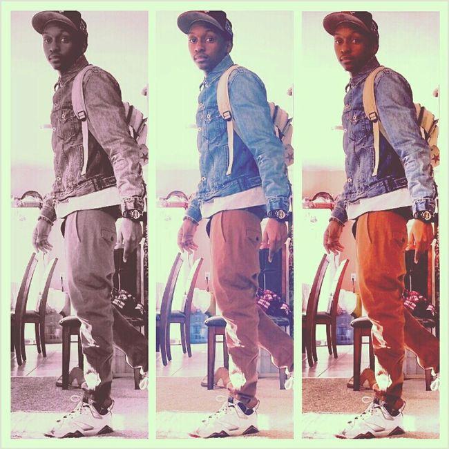 Denim Swag Fashion Style Jordans H&M Olympics Swagg Lit Jacket Flee Levis 7s Hnm Pants