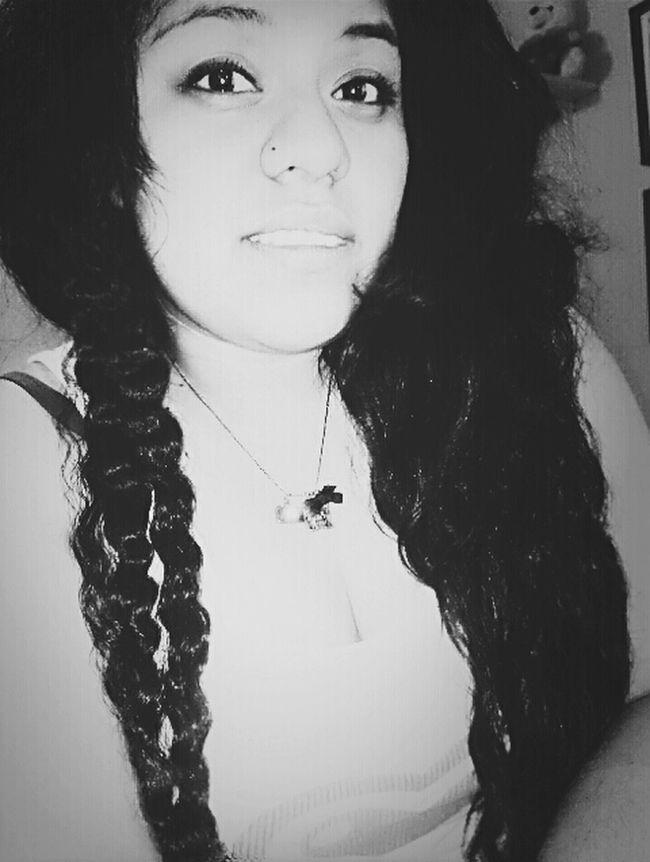 Night Me Happy Goodnight Smile Curlyhair