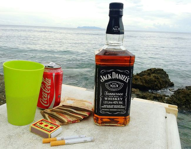 My Sunday going a little like this... Beach Alcohol Tandai Highway