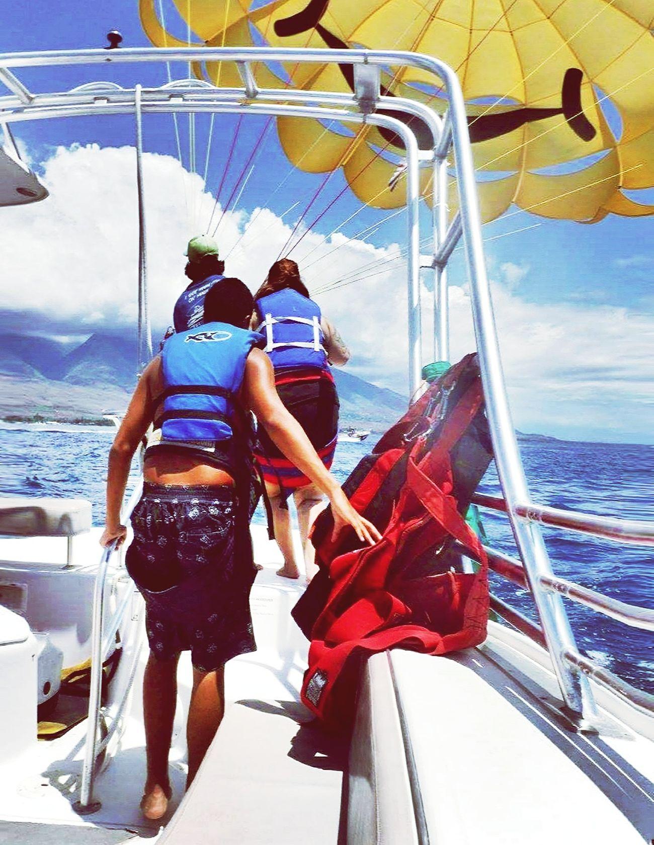 Maui Hawaii Life 808  Beach Photography Parasailing Nephew ♥ Amazing Experience