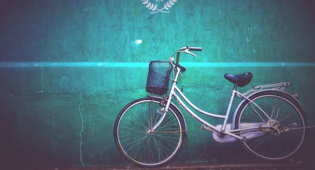 """Learning to ride a bicycle is one of the happiest memories you could have"" OpenEdit Eyeemdaily Bicycle Vignette Eye4photography  Inspiring Eyeem Philippines Negative Space"