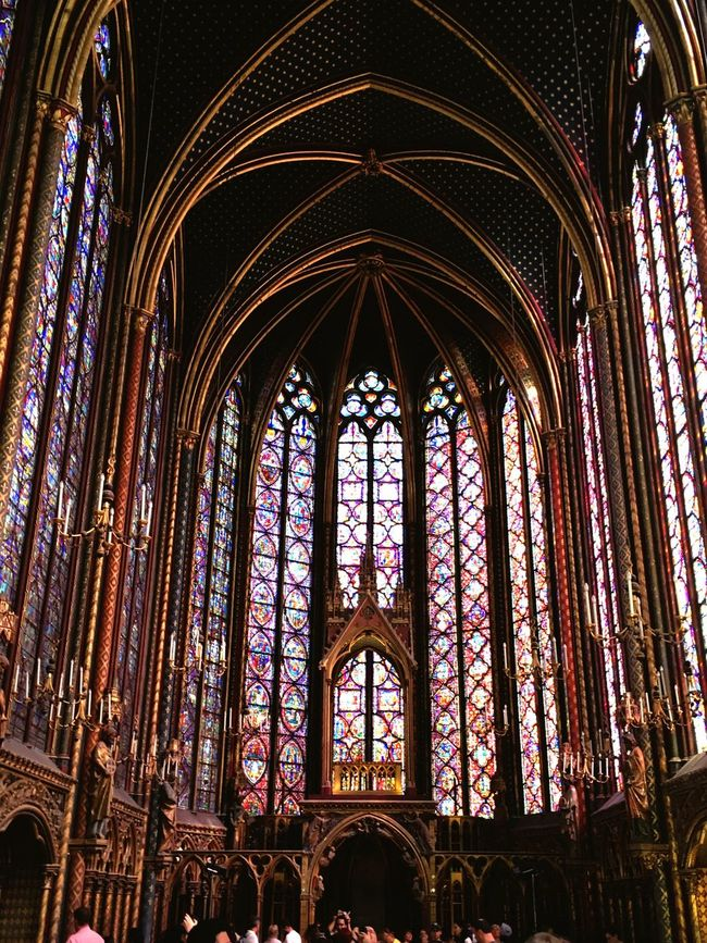 Paris, Hello World Architecture Travel Glass - Material Famous Place Ceiling
