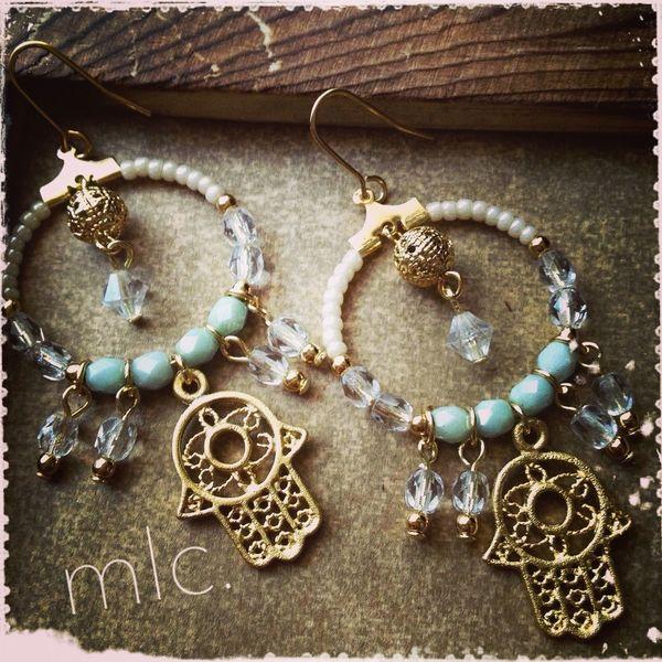 """lucky charm"" Handmade Handmade By Me Handmade Jewellery Mlc.handmade Accessory"