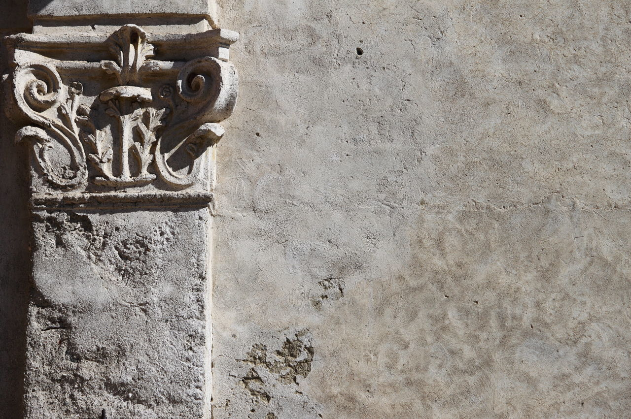 Ameno Town Ancient Wall Architecture Art And Craft Building Exterior Close-up Day Italy No People Outdoors Piemonte