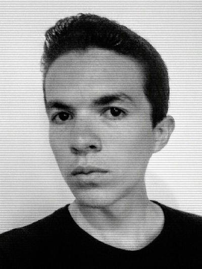 Ugly Boy Thats Me  Black & White Selfie ✌ Mugshot Hello World Sad & Lonely Noir Me