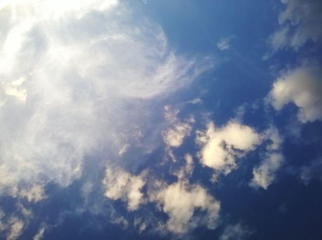 Cloudscape Sky Only Blue Cloud - Sky Nature Softness