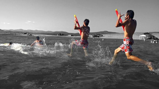 Young, Wild & Free Sound Of Life Landscape Taking Photos Summer Water Beach Black And White Enjoying Life Sports Photography