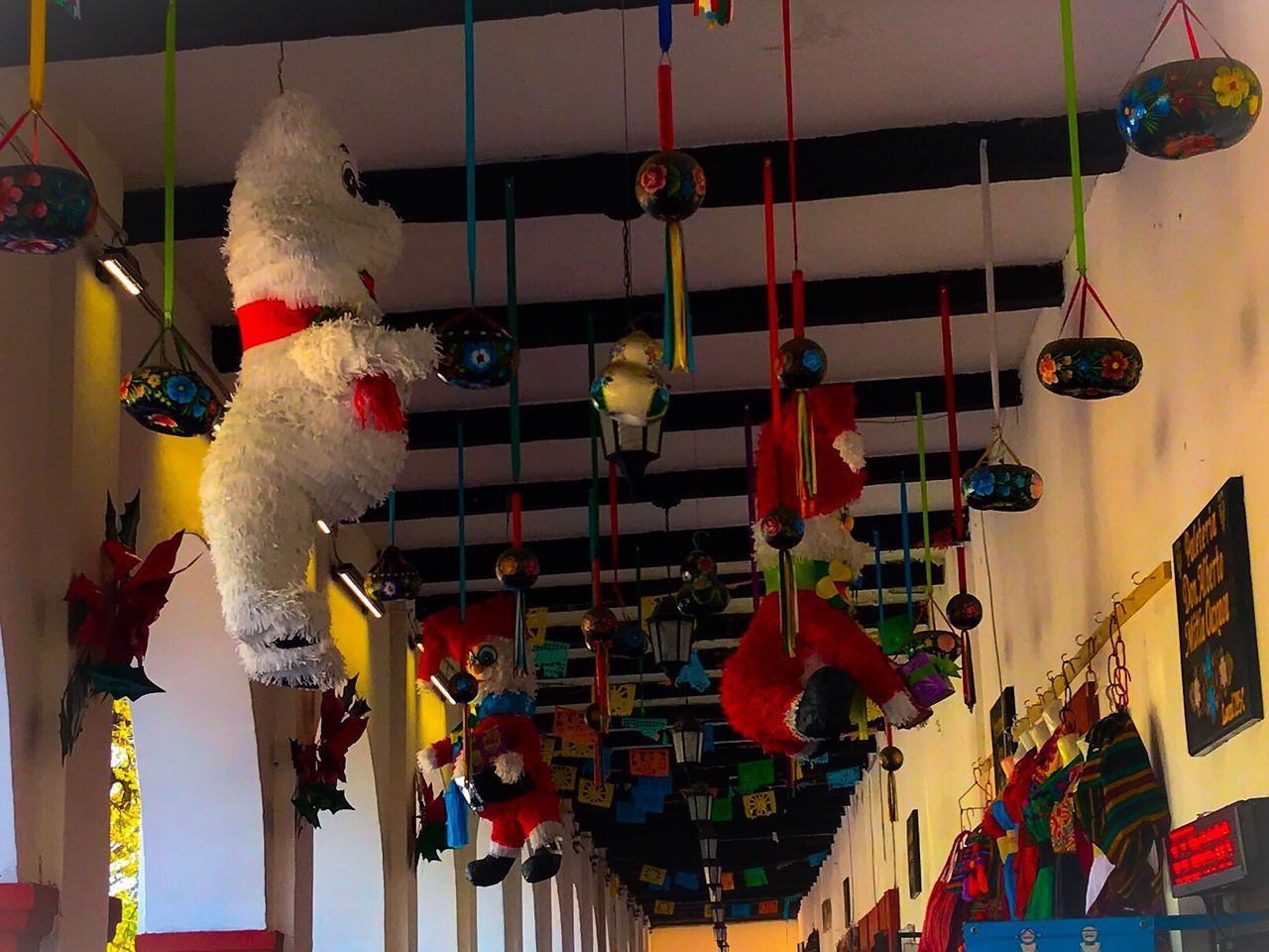 Traveling Home For The Holidays Hanging Cultures No People Celebration Stuffed Toy Indoors  Multi Colored Day Mexico Outdoor Piñata Store Travel Lieblingsteil