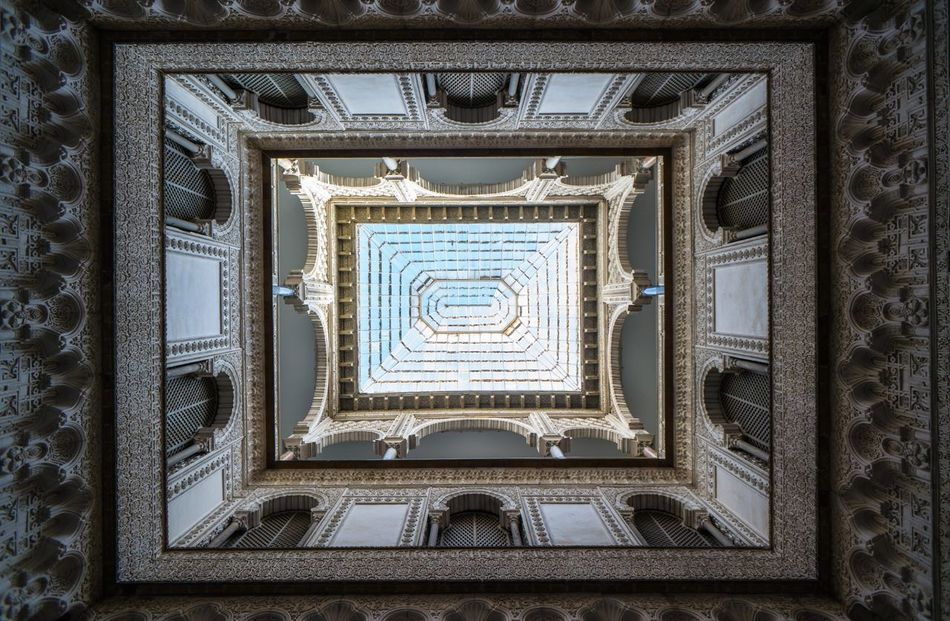 Ceiling Lookingup Sevilla Seville Real Alcazar Architecture Mudéjar Sightseeing