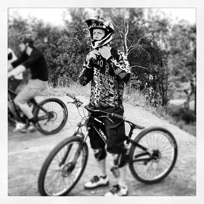 At the Start of the #4x #track | #bikepark #winterberg Track Winterberg 4x Bikepark 5likes