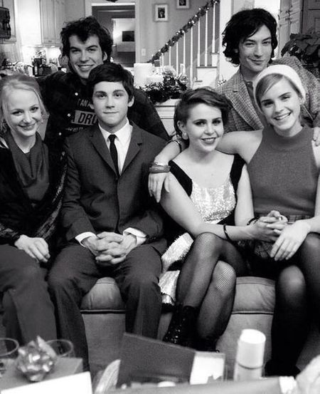 The book is wonderful and so is the movie <3 Theperksofbeingawallflower Charlie And Sam