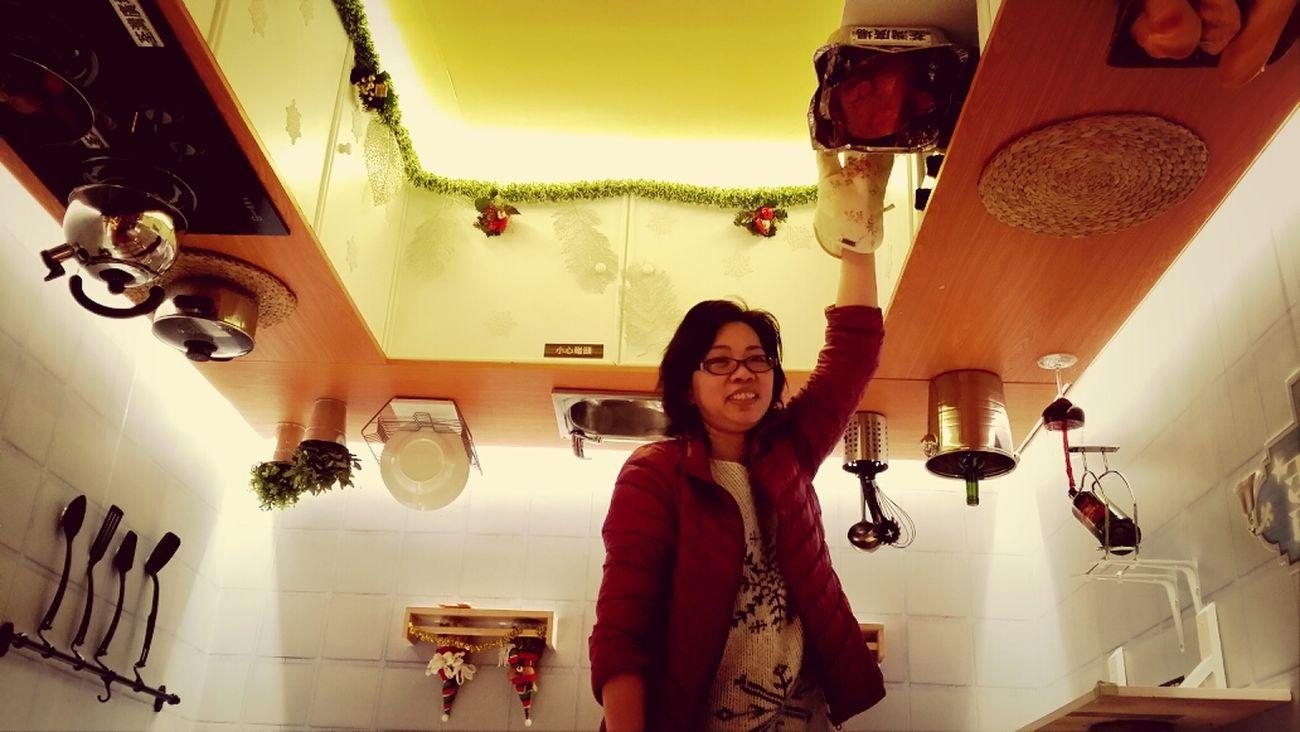 攝於荃灣一田倒轉聖誕屋