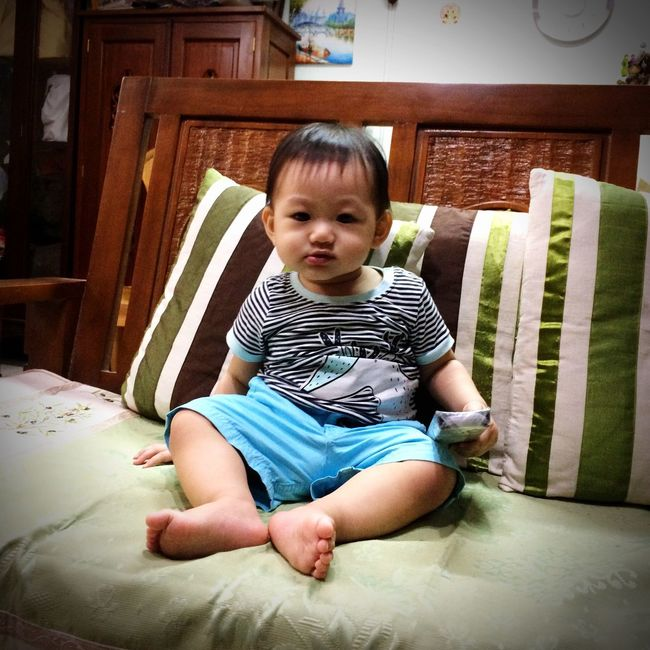 Baby Nephew at 11 months old