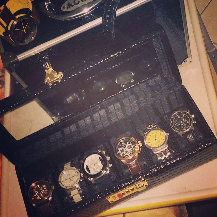 my first six of selection, sadly! dami ko pang maiiwan 😭 Gettingready Luggageproblem Backtomanila Balikbayan Imissmanila Wristporn