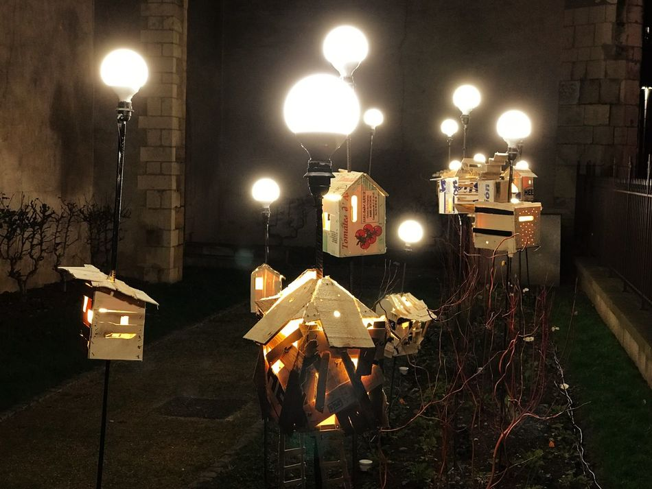 More lights of Fête des lumières ✨😊 Illuminated Night Lighting Equipment Glowing Light Bulb Candle No People Electricity  Flame Oil Lamp Outdoors France Lyon Fete Des Lumieres