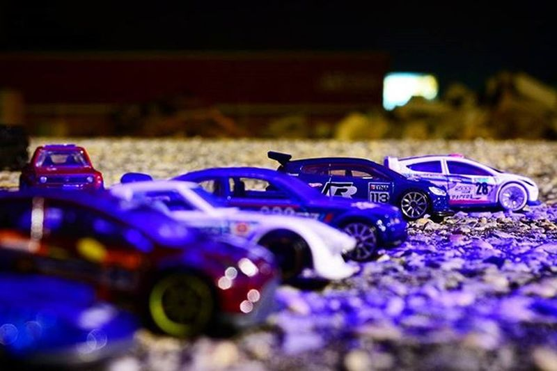 Vroom! Vroom! Toyonlocation Toy_nerds @hotwheelsofficial Toys_afterdark Toycrewbuddies Toyoutsiders Toptoyphotos HotWheels Matchbox Nightphotography Lazyshutter Streetrace VW Mazda Nissan Fordfiesta Bmw Race Streetstyle _tyton_