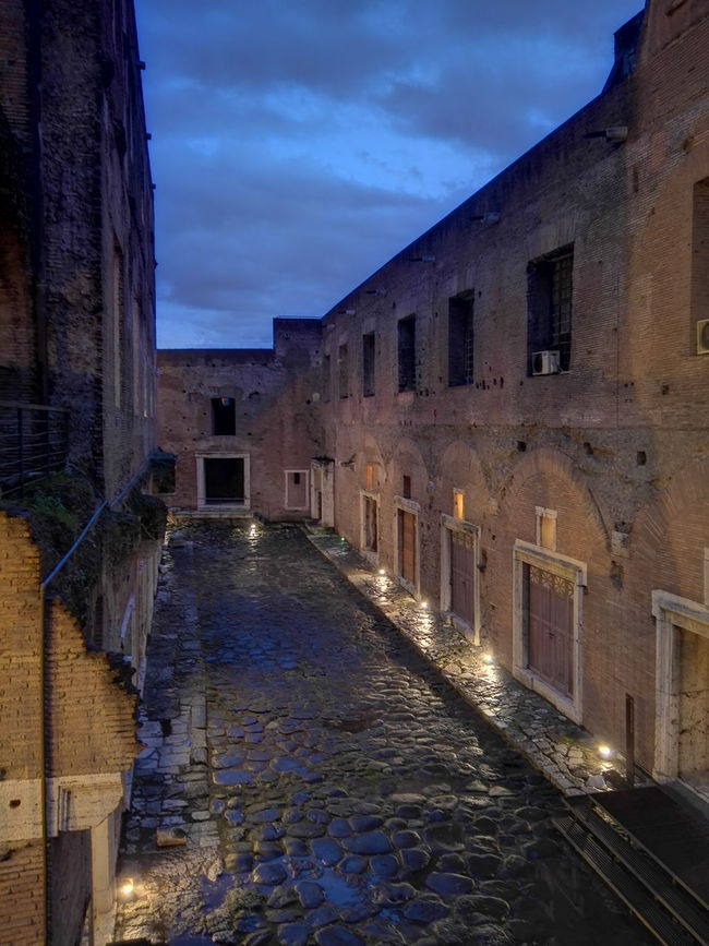 End winter in ancient Rome Traiano Rome Ancient Architecture Art Archaeology Cultural Heritage Italy Roman Landscape Cityscapes