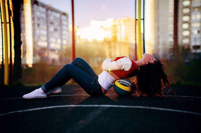 Enjoying Life That's Me Taking Photos Basketball ❤