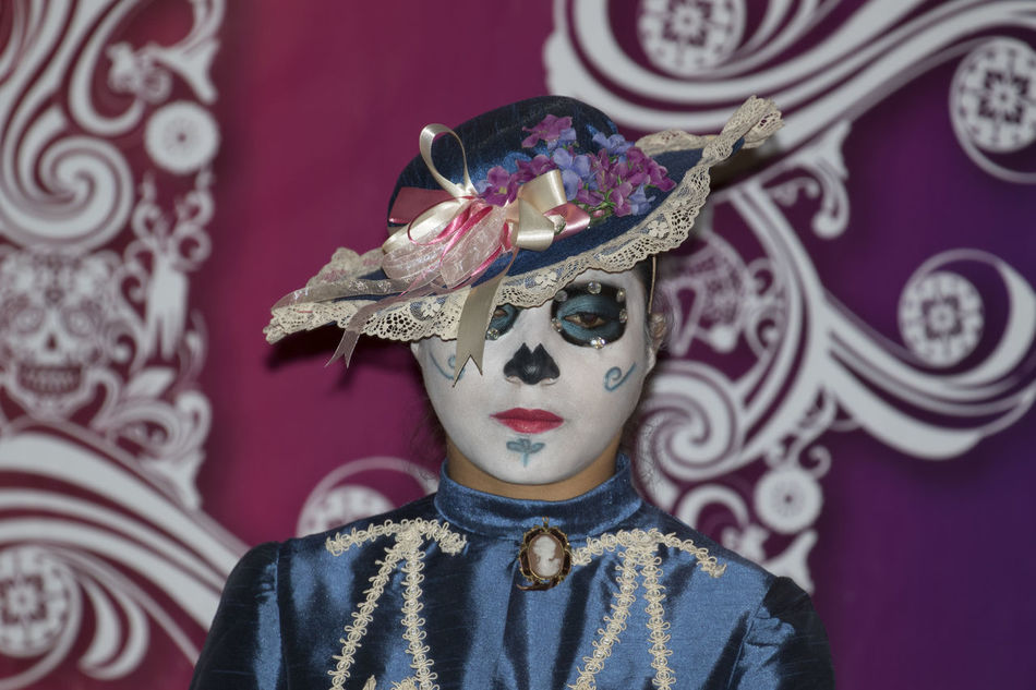 Dıa De Muertos Mexico Toluca Traditional Clothing Traditional Culture Traditions