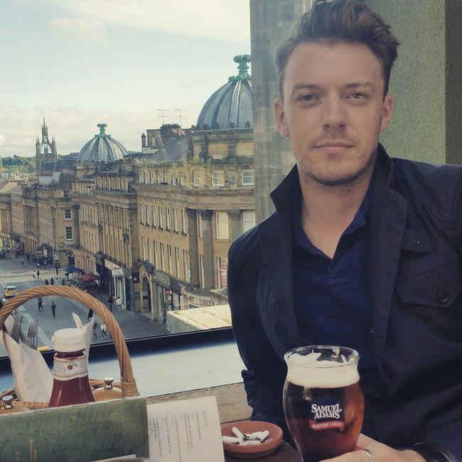 Newcastle Upon Tyne Thebotanist Samueladams Sunday Beer Self Potrait Barbour