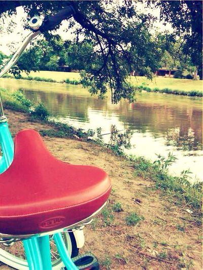 Bike ride. Wichita Biking Cruisin' Relaxing Nature Hanging Out