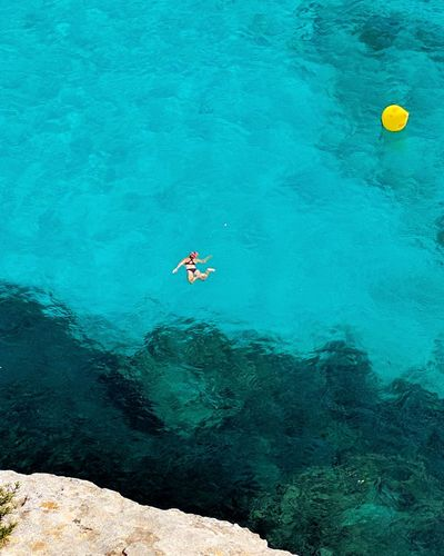 Clear Water Blue Sea Mediterranean  Snorkeling Snorkel Diving Snorkelling Tranquility Nature Summer Holiday Vacation Relax Therapy Bigblue Blue Medditerineansea Medditeranean Swimming Swim Swimming With The Fish