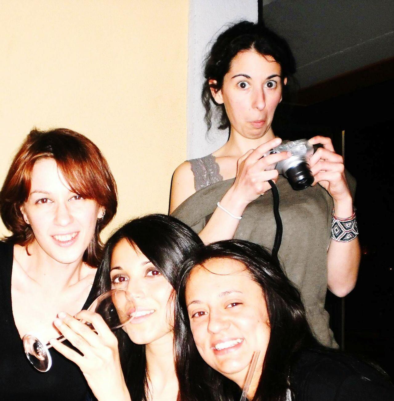 Group Photo Womens Portraiture Donne Togetherness Femminilità Femininity Drunken Brille