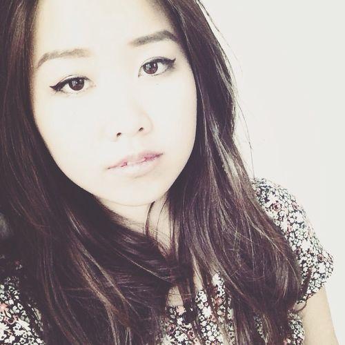 Asian Girl Self Portrait That's Me