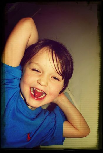 Taking Photos ❤ Nikon D80 And EYEemEditing My Little Princess :-D Always Smiling :)