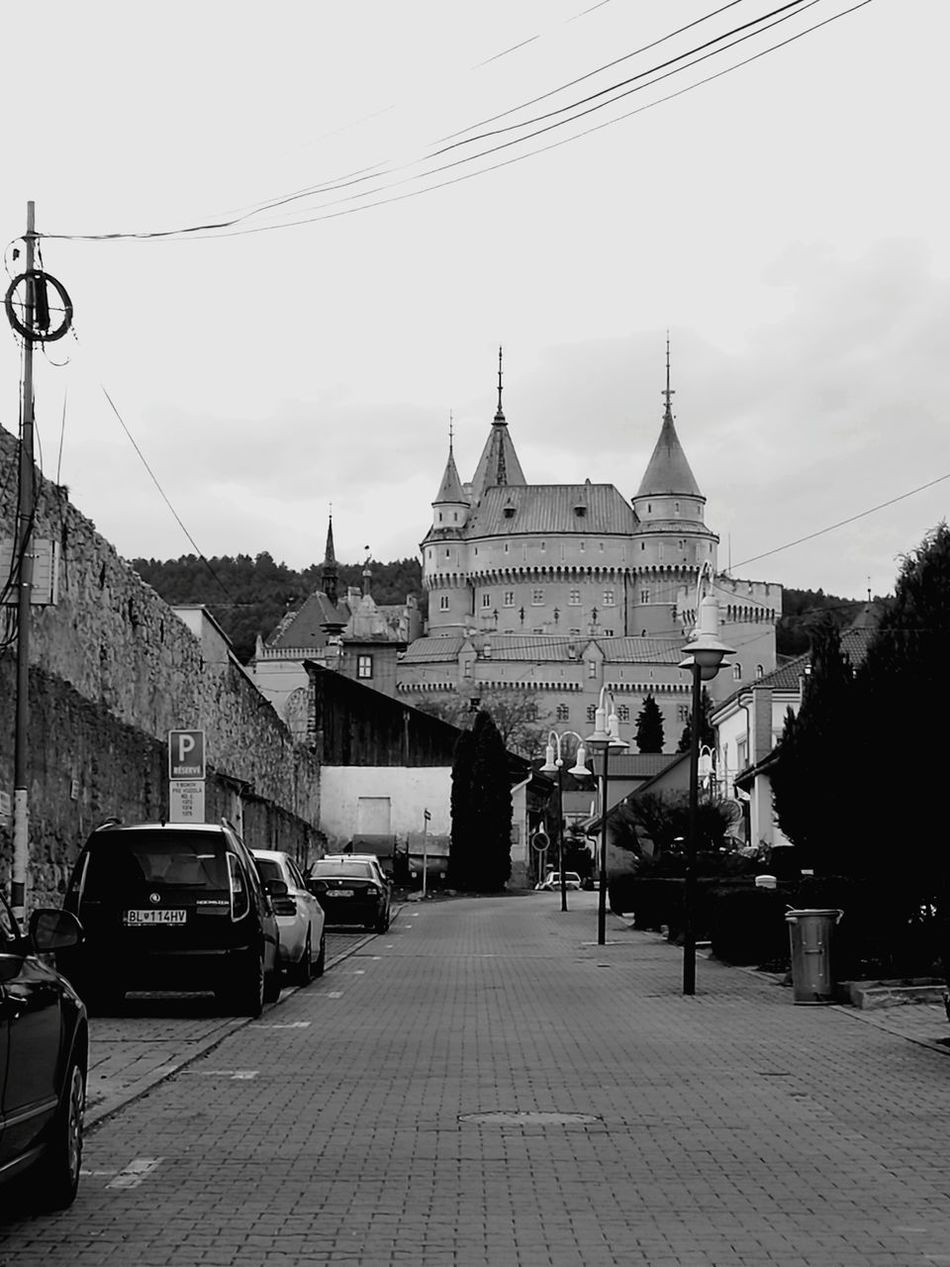 Bojnice Bojnicecastle Bojnice Slovakia Travel Destinations City Travel Architecture Street Car Day Castle Sights & Views  Sightseing Tower Towers
