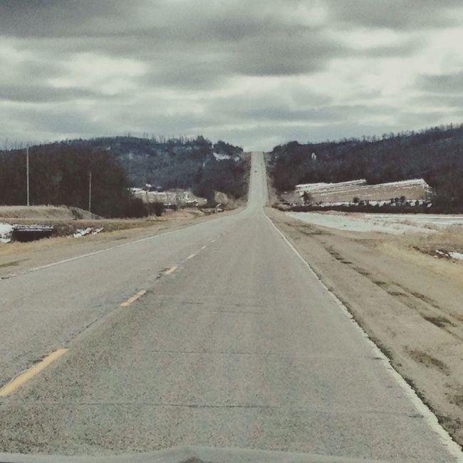 Highway to heaven Manitoba Roadtrip Highway