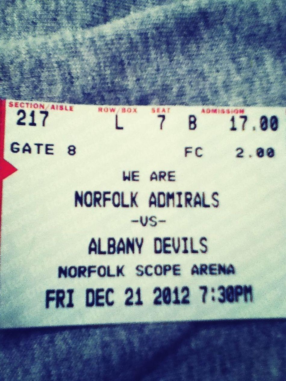 Admirals win 2-1 yeaaaaa what an amazing birthday present ••••••••