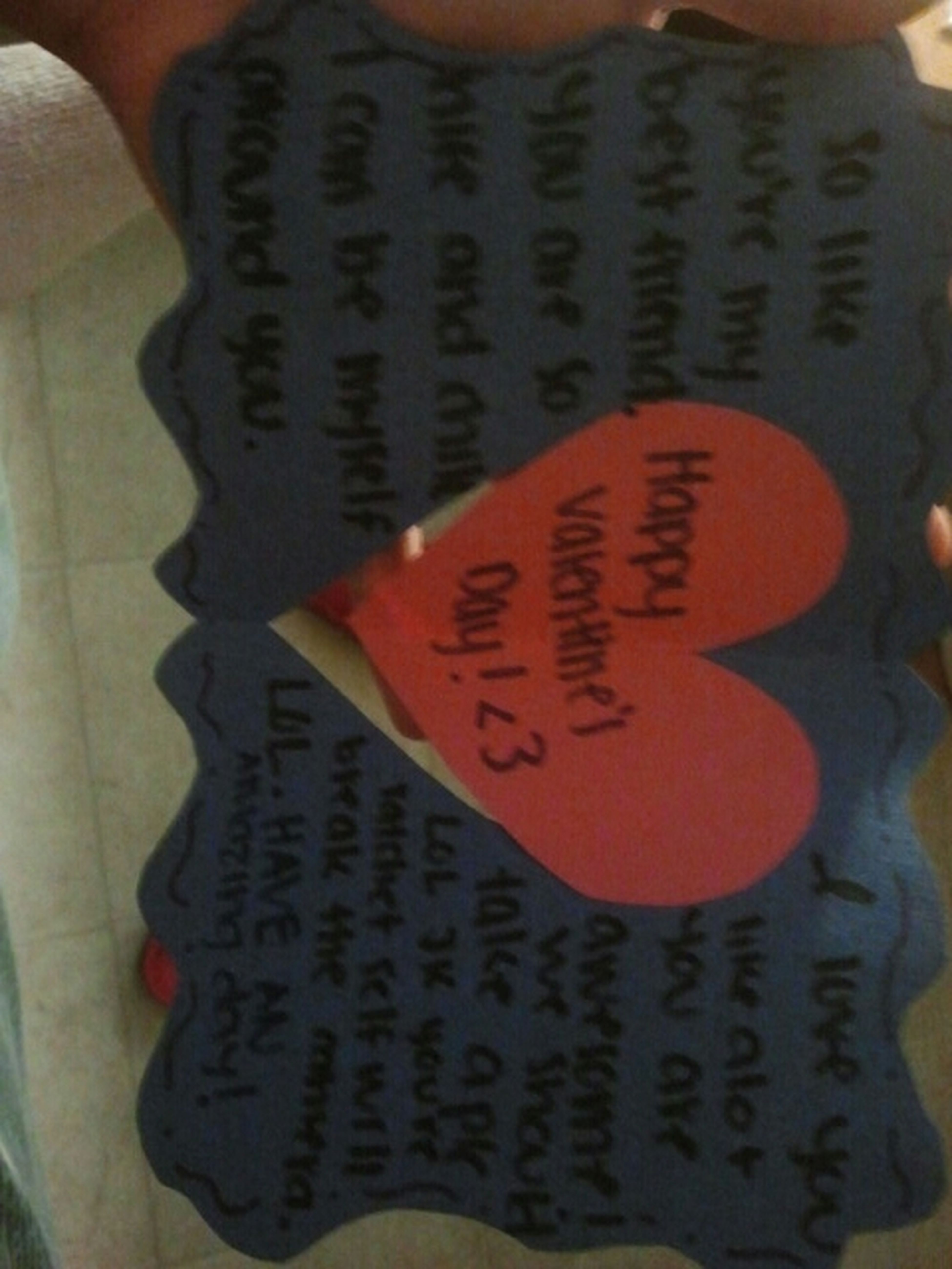 What Mi Besfrend Made Me For Valentines ^_^