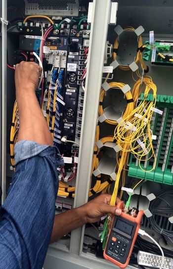 Telecommunications Fiber Optics Engineering Engineer Technical Instruments Measurement Measuring Tool Optic Fiber Internet Hispeed Internet Technology Data Data Transmission Transmission Data Link Electronic Electric Wire Electric