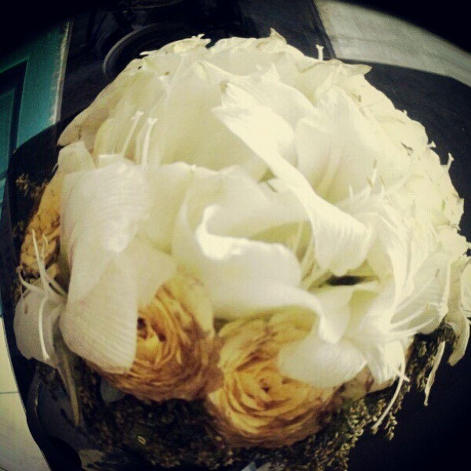 Yo, flowers! Yo still alive? haha Akonadawnxt Wedding Flower Bride 's Boquet Fisheye
