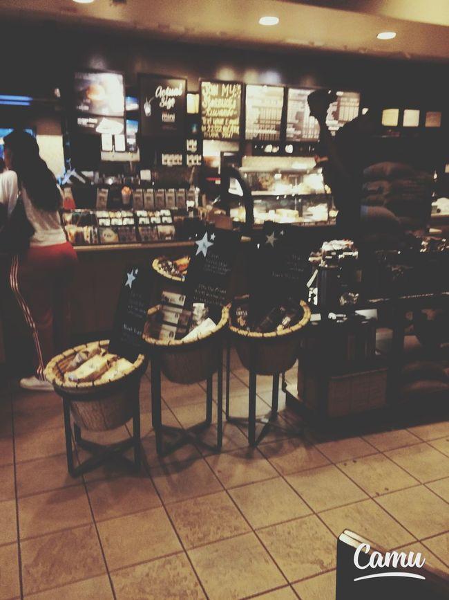 The Interior Of My Favorite Breakfast Cafe: Starbucks ? Chai Latte Espresso Cafe Americano Hot Chocolate
