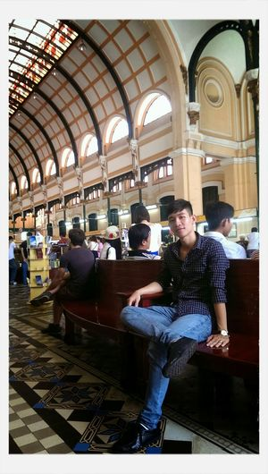 Inside Saigon Post Office. First Eyeem Photo