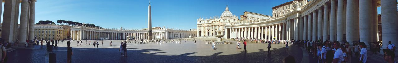 Travel Destinations Day Architecture Outdoors Place Of Worship Religion Monument Tourism Travel Spirituality VaticanCity City Rome Vacations King - Royal Person