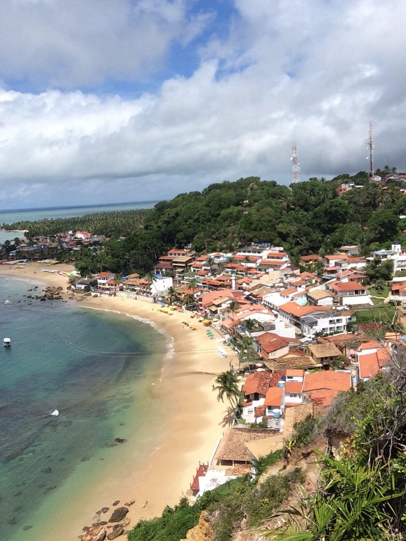 Morro de São Paulo - Bahia - Brasil Cloud - Sky Sky Architecture Nature Beach Beauty In Nature